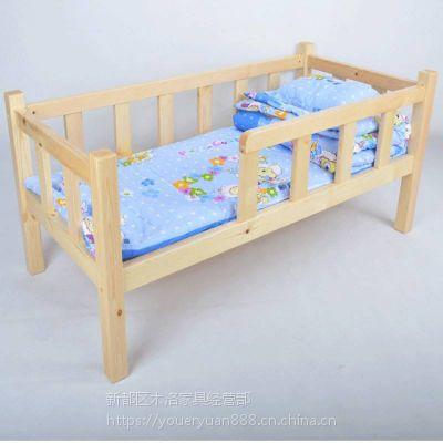 四川眉山幼儿园儿童双层床 午休单人床定做 安全可靠