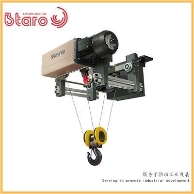 3t电动葫芦 欧标单梁电动葫芦定制 百达力欧3t欧式单梁直销