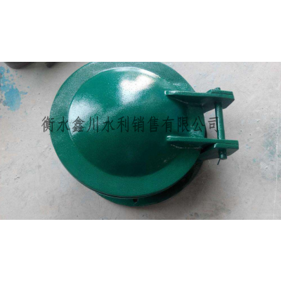 鑫川水利玻璃钢拍门dn400价格
