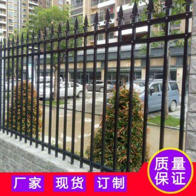 清远厂房外围墙栏杆安装厂家 欧式围墙护栏 室外围墙施工栅栏
