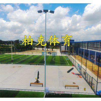 湛江球场专用灯杆厂家 6米灯柱安装方法 学校篮球场照明led灯光定制