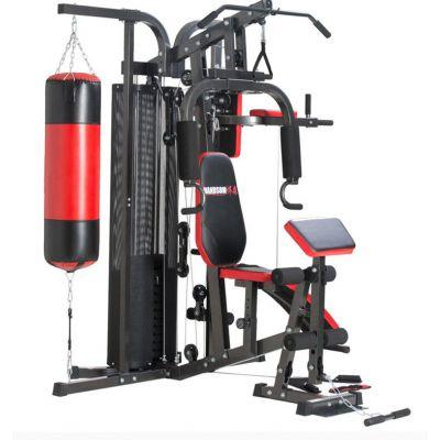 多功能史密斯机卧推深蹲架龙门架小飞鸟综合训练器家用健身器