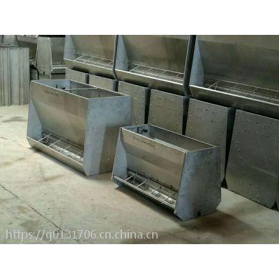 商洛不锈钢料槽、育肥双面不锈钢料槽