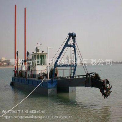 孟加拉航道疏浚船 东南亚港口挖泥抽沙清淤平台hc