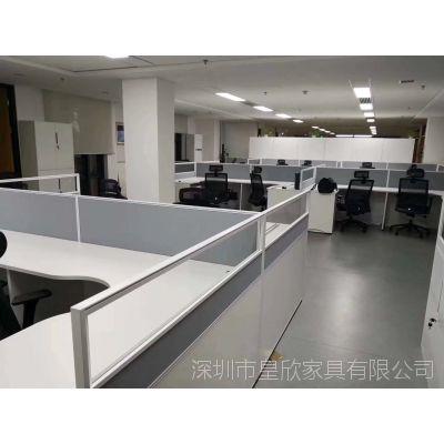 屏风卡位组合办公桌