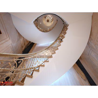 运盛美之国320平方欧式风格别墅装修效果图|南京龙发装饰 |美之国花园别墅装修设计