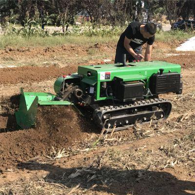 自走式果园施肥机 全国联保 履带新款田园管理机出厂报价