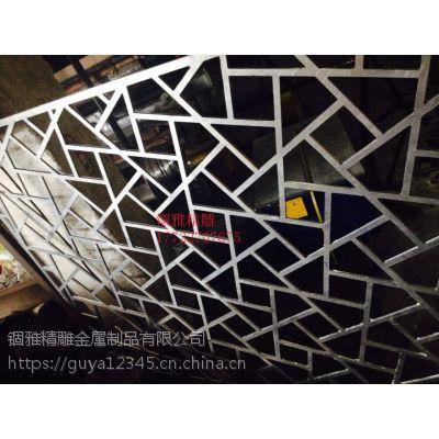 简约铝板雕刻背景墙