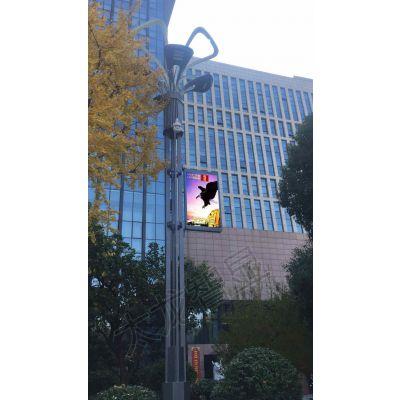 智慧城市风口来临,智慧灯杆屏、LED灯杆屏厂家如何借势谋局?