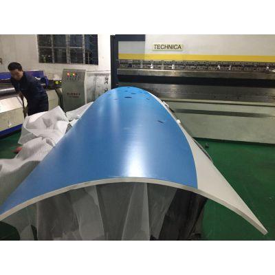 天津圆弧铝单板、铝板包柱子
