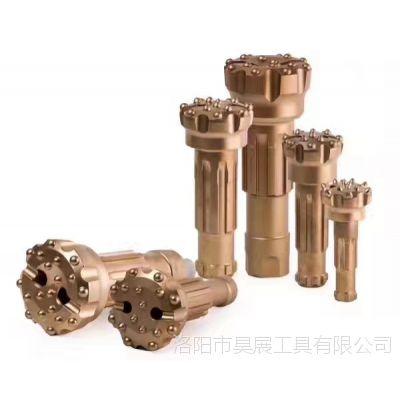 子弹头牌 高中低风压 潜孔钻头 厂家销售 70/90/110 潜孔锤 4寸5寸6寸8寸钻头