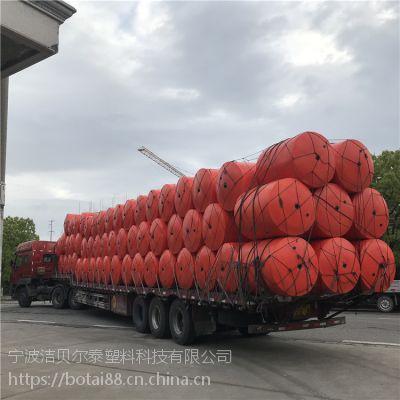 1.2米浮筒式拦污排钢丝绳连接拦漂装置
