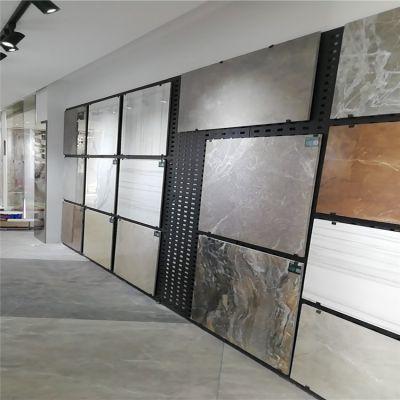 瓷砖网眼板厂家,陶瓷货架冲孔板,芜湖钢板打孔展架