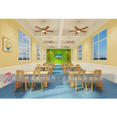 安阳幼儿园装修设计哪家好-选择河南天恒装饰一定没错