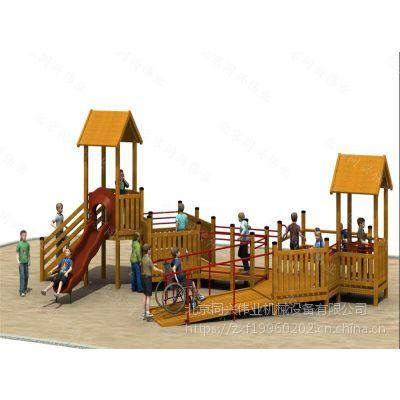 非标户外木制拓展、闯关训练攀爬、幼儿园体能拓展、公园、景区、游乐园