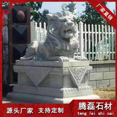 惠安厂家畅销青石石雕狮子加工定制,石狮子价格