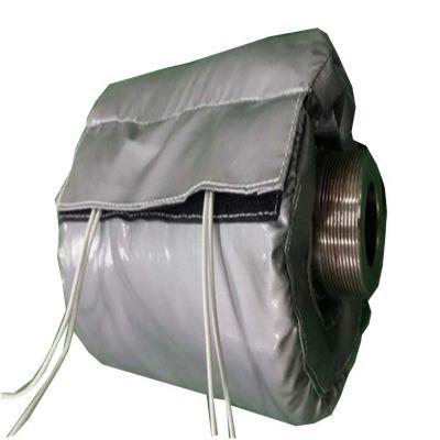 供应注塑机保温套 耐高温 耐腐蚀 蒸汽管道可拆卸式保温套 绝热降耗