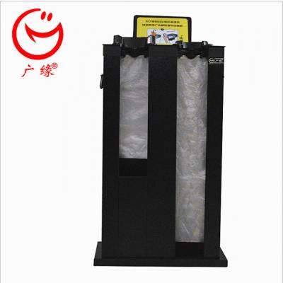 前置双孔雨伞机黑色 可定制 营业厅门口保洁雨伞机 办公用品 180度高温喷塑工艺