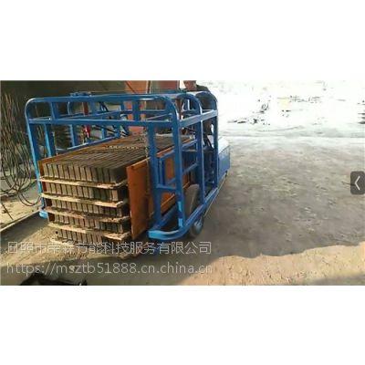水泥砖机电动叉车厂家 水泥砖厂拉坯车