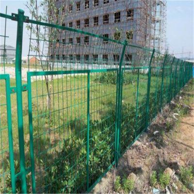 围墙栅栏多少钱一米 庭院围墙护栏 厂家供应浸塑护栏网