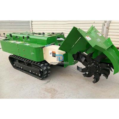 小型农用田地管理机 开沟施肥除草旋耕打药一机多用 山东拓达
