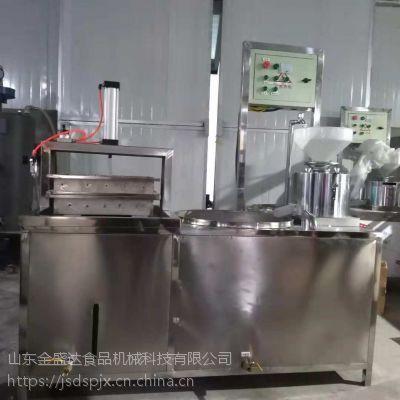 全自动豆腐机价格金盛达不锈钢设备