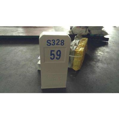 供应护栏标桩 石油标志桩质量轻 玻璃钢安全指示标志桩