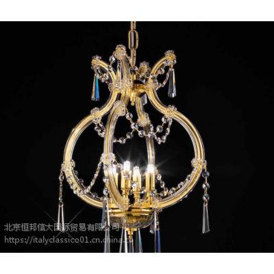 OR ILLUMINAZIONE客厅灯具高端进口水晶吊灯