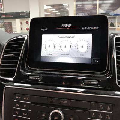 奔驰GLE320改装前排通风座椅哈曼卡顿音响360全景