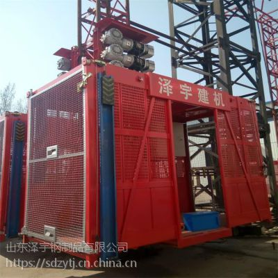 山东泽宇建机施工升降机 施工电梯 生产厂家