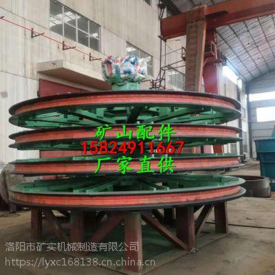 矿用2.8米天轮衬垫现场安装中 超高分子斜插衬垫 矿实厂家