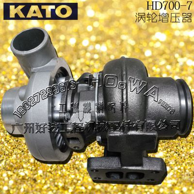 KATO/加藤HD700-7钩机进口涡轮增压器_加藤700-7增压器