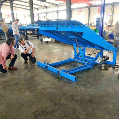 济南工厂专业生产6吨8吨10吨固定式登车桥 电动升降液压装卸平台