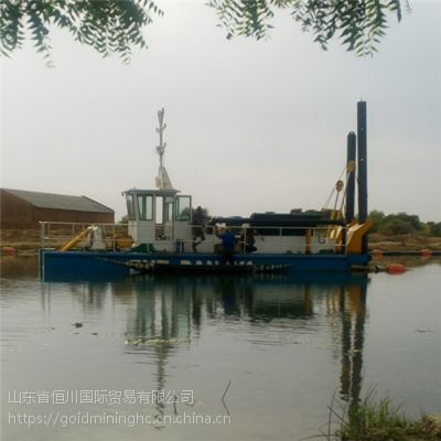 河道清淤疏浚船 小型绞吸式挖泥船 河道清淤机械设备