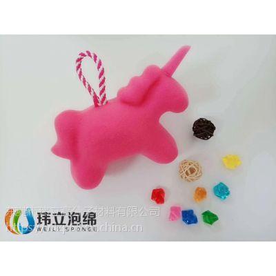 东莞厂家直销彩色海藻泡棉,沐浴海绵球,卡通沐浴海绵