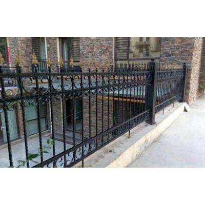 巨煜金属 庭院铁艺护栏 厂家直销铁艺护栏销售 厂家定制铁艺护栏