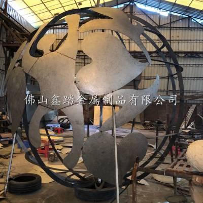 佛山不锈钢雕塑厂家 鑫踏不锈钢雕塑价格 锻造不锈钢雕塑案例