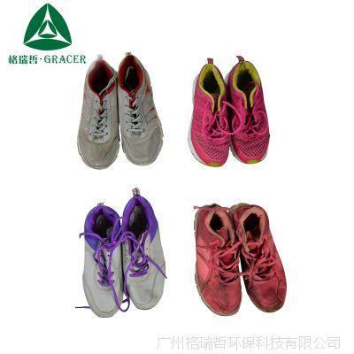 二手羽毛球鞋女透气夏季专业运动鞋bales外贸出口缅甸东帝汶混批