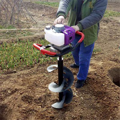 优质轻便挖坑机 汽油施肥挖坑机图片 富民牌