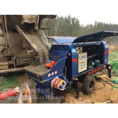 细石泵,混凝土泵,青科重工,厂家直销,地泵