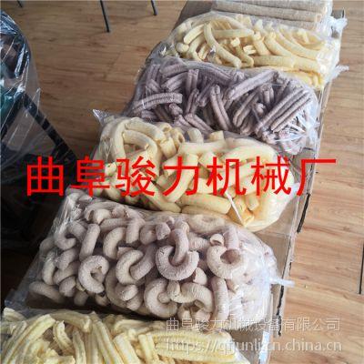 骏力直销 玉米糁子康乐果膨化机 一键启动大米膨化机 噪音小的不锈钢糖棍机 低价促销