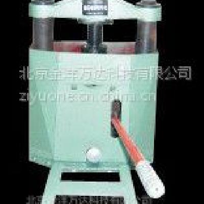 油压岩芯劈开机、岩芯劈样机厂家直销 型号:KU80×20 金洋万达牌