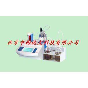 中西现货常量水分滴定仪(含固体测量装置) 型号:N82-ZDY-504库号:M385094