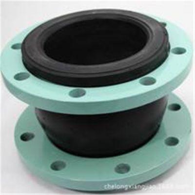 专销耐酸碱橡胶软接头厂家 专销大翻边软接头型号 法兰橡胶减震器 安装灵活