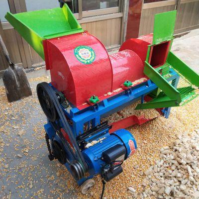 水稻高粱打粒机操作简单 多功能小麦脱粒机
