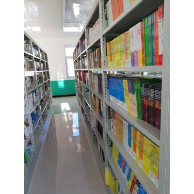 恩果 洛阳图书馆书架 钢木书架 生产厂家 书籍室铁书架