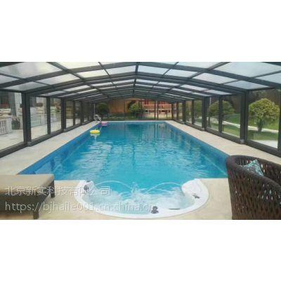 沈阳别墅室外游泳池水处理施工