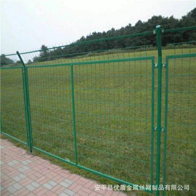 框架式护栏网 1.8*3米边框护栏网厂家 围墙铁网护栏规格图片