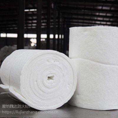 电厂专用硅酸铝保温毡-硅酸铝针刺毯厂家