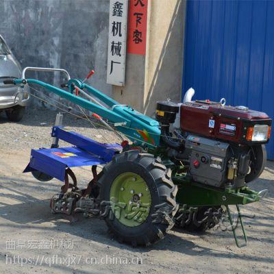 大马力手扶旋地机 8马力手扶拖拉机价格 手扶拖拉机带旋耕机